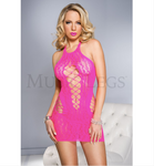 Halter Neck Mini Pink