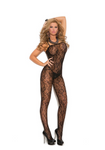 Rose Lace Bodystocking Black - Model Express Vancouver