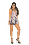 Lace Mini Dress and G-String Tie Dye