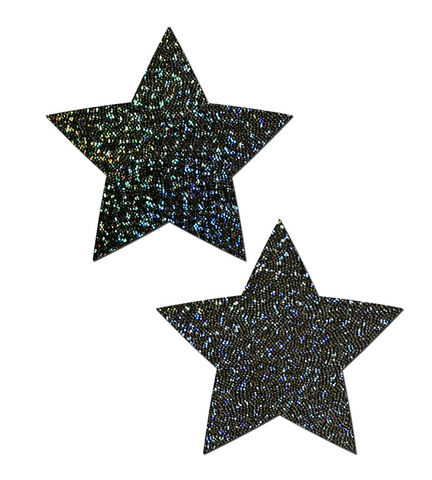 Pastease: Glitter Black Star