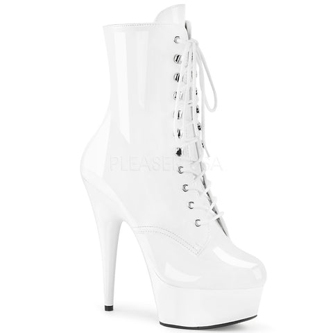 Pleaser Delight 1020 White