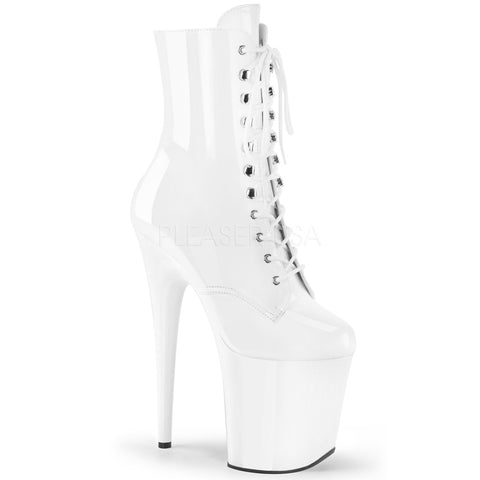 Pleaser Flamingo 1020 White