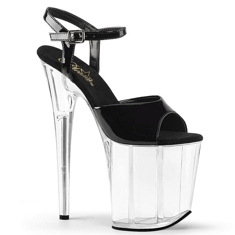 Pleaser Flamingo 809 Black/Clear