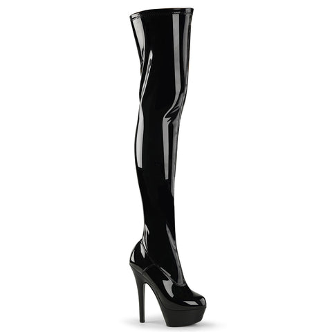 Pleaser Kiss 3000 Black