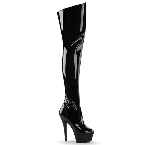 Pleaser Kiss 3010 Black