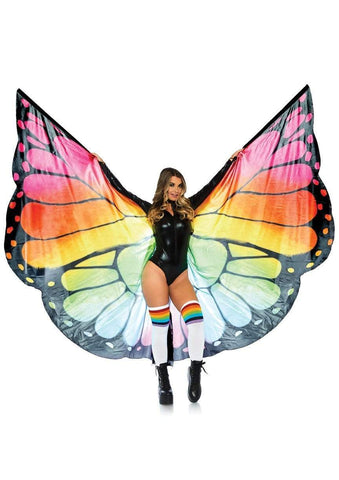 Festival Butterfly Wing Halter Cape