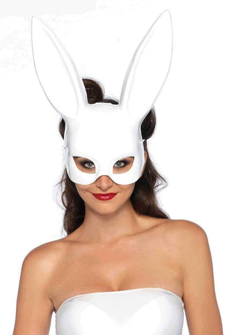 Masquerade Rabbit Mask - White