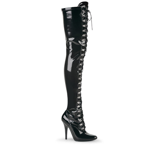 Pleaser Seduce 3024 Black