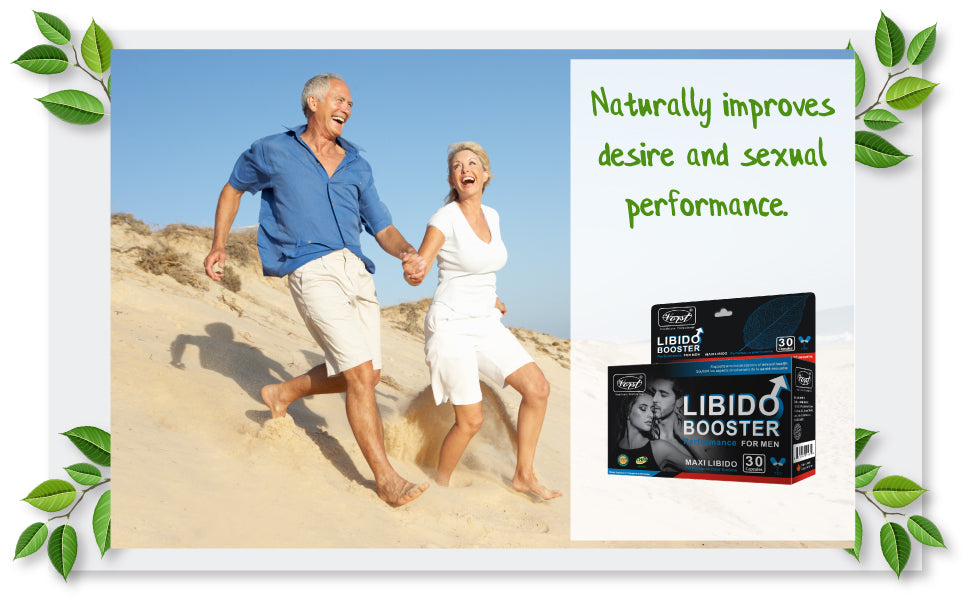 Libido Booster Tribulus, Horny Goat Weed, Maca, Saw Palmetto, Panax Ginseng and L-Arginine