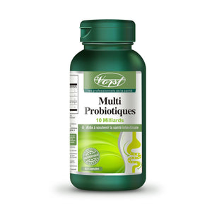 Multi Probiotics 10 Billion 60 Capsules