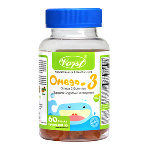 Omega 3 Gummies for Kids 60 Blocs
