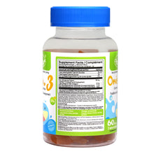 Load image into Gallery viewer, Omega 3 Gummies for Kids 60 Blocs - Vorst Supplements and Vitamins