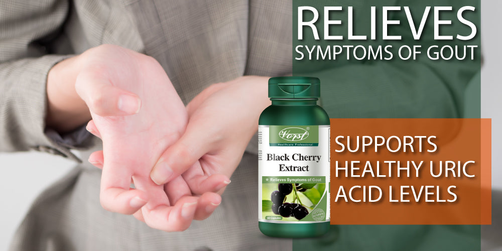 Buy Black Cherry Extract Capsules For Gout Online Store Canada