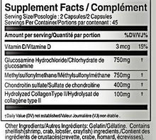 Load image into Gallery viewer, Joint Q Advanced Formula 1000Mg Supplement Facts