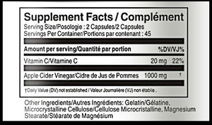 Vorst Vitamin C+ supplement facts