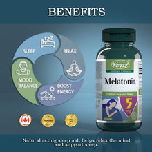 Load image into Gallery viewer, Melatonin 5mg 60 Capsules