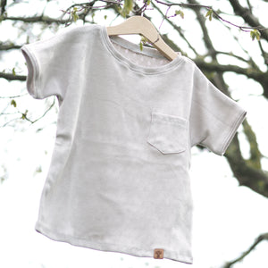 "SHIRT ""Pointoille"" Taupe"