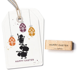 "Stempel ""Happy Easter"""