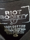 Riot Society : Feed The Bunnies Graphic Tee : Size S