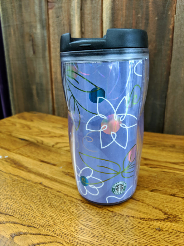 Starbucks 2004 Plastic Tumbler With Sealing Lid