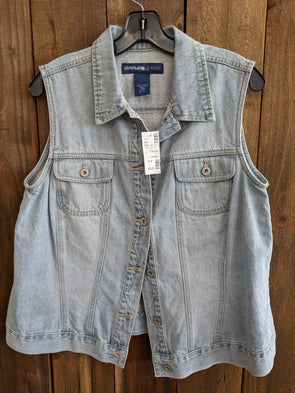 Avenue  Jeans - Denim Vest Size 14/16