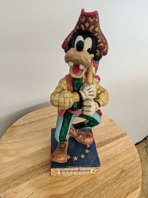 Jim Shore - Disney Tradtions Stars and Stripes of Freedom Goofy Figurine