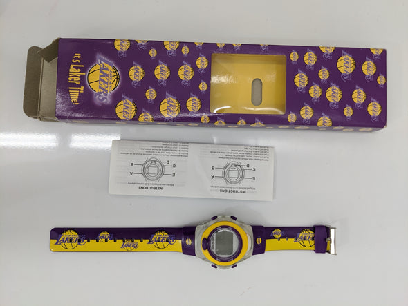 2002 McDonald's Digital Lakers Watch