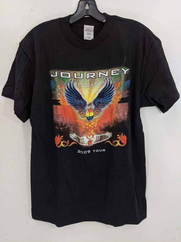 Journey Revelation with Heart 2009 Concert Tour Tee Shirt