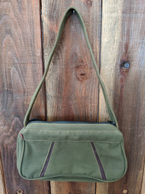 Levi's Green Canvas Shoulder Bag