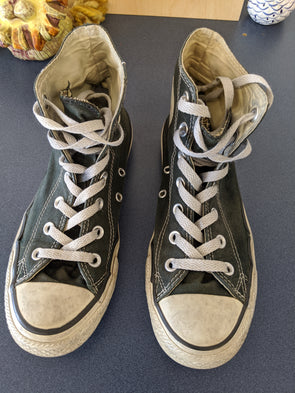 Highly Distressed Chuck Taylor Hightop Converse