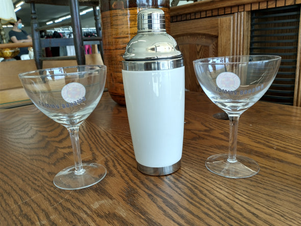 Tommy Bahama Thirst Responder Cocktail Shaker Set 3pcs