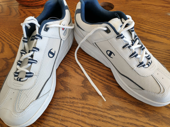 Champion Pace Shoes Blue on White Size 11 New