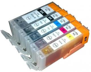 Genuine Canon CLI-451 Ink Cartridges
