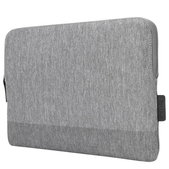 Targus 13 Inch CityLite Laptop Sleeve specifically designed to fit 13 Inch MacBook Pro – Grey (TSS975GL)