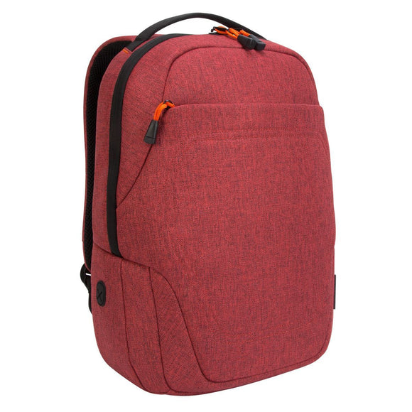 Targus 15 inch Groove X2 Compact Backpack designed for MacBook 15 Inch - Dark Coral (TSB95202GL)