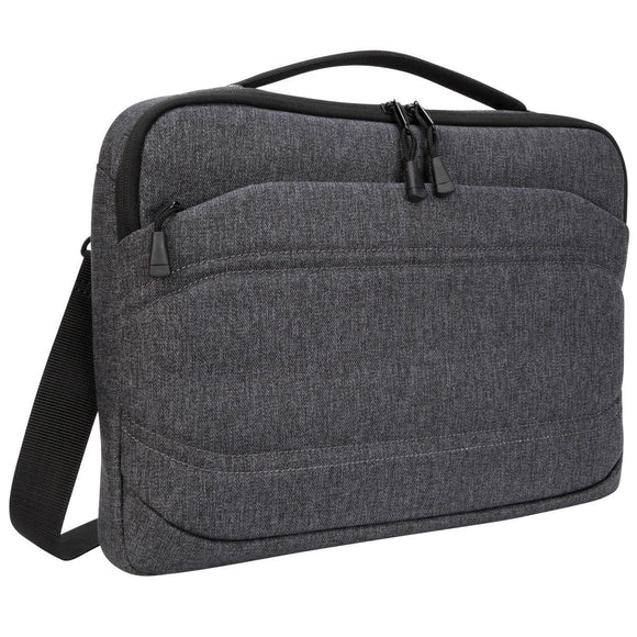 Targus 13 Inch Groove X2 Slim Case designed for MacBook & Laptops - Charcoal (TSS979GL)