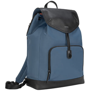 Targus 15 inch Newport Drawstring Laptop Backpack - Slate Blue (TSB96403GL)