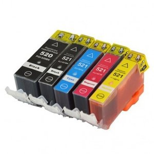 Genuine Canon CLI-521 Ink Tank Cartridges