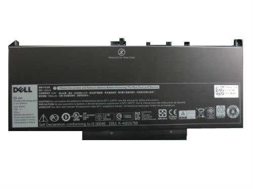 Dell 55 WHr 4-Cell Lithium-Ion Primary Battery for Latitude E7270, E7470 (451-BBSY)