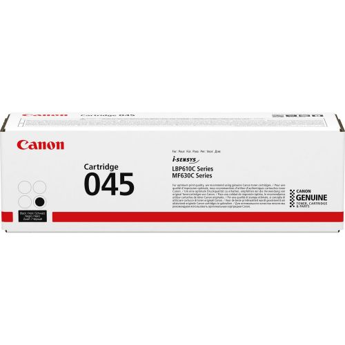Genuine Canon 045 Black, Cyan, Magenta, Yellow Toner Cartridges