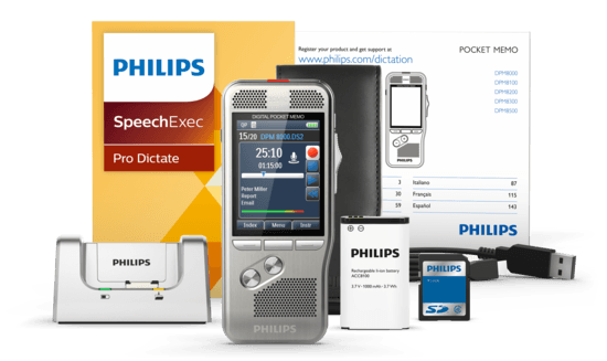 Philips Professional Dictation Recorder (DPM 8500)