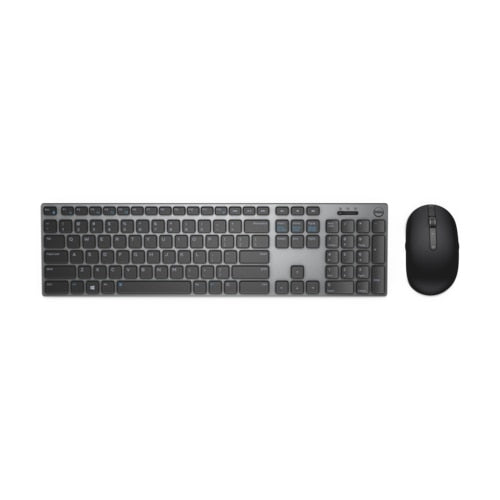 Dell Premier Wireless Keyboard and Mouse - KM717 - US International (580-AFQE)