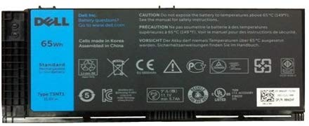 Dell 65 WHr 6-Cell Lithium-Ion Battery for Precision Mobile Workstation M4600, M4700, M6600, M6700 (451-12032)