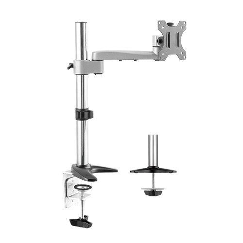 Lumi Single Screen Preconfigured Modular Aluminum Monitor Arm (LDT15-C011)