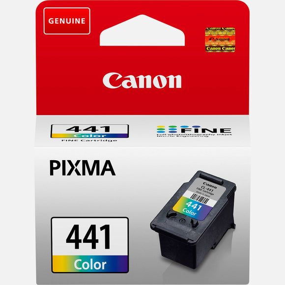 Genuine Canon CL-441 Colour Ink Tank Cartridges