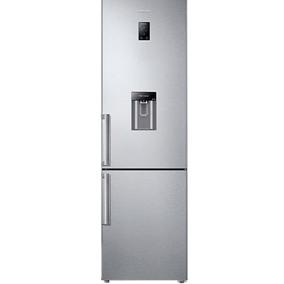 SAMSUNG 386 l Combi Fridge Freeze with Water Dispenser Aluminium (RB37J5942SL)