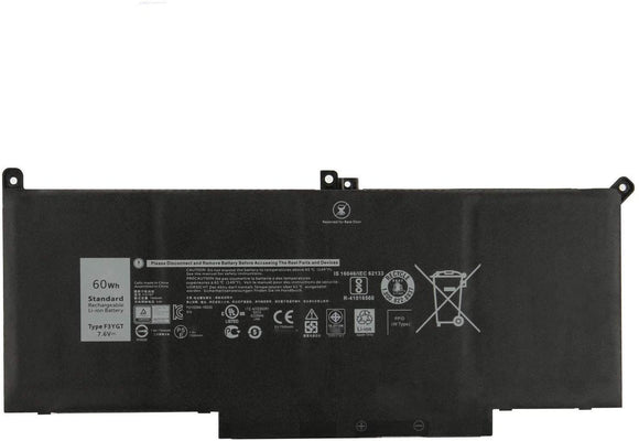 Dell 60 WHr 4-Cell 7.6v Battery (DM3WC )