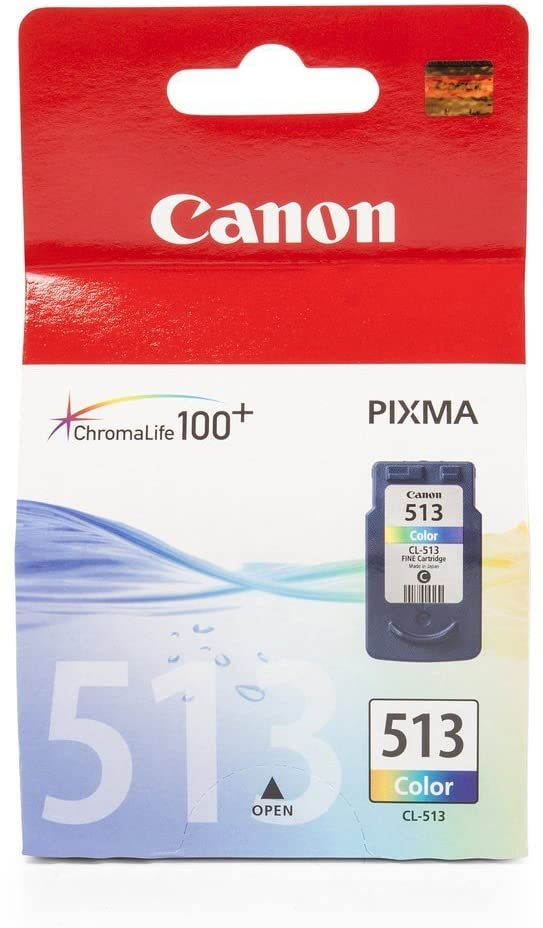 Genuine Canon CL-513C Colour Ink Tank Cartridge