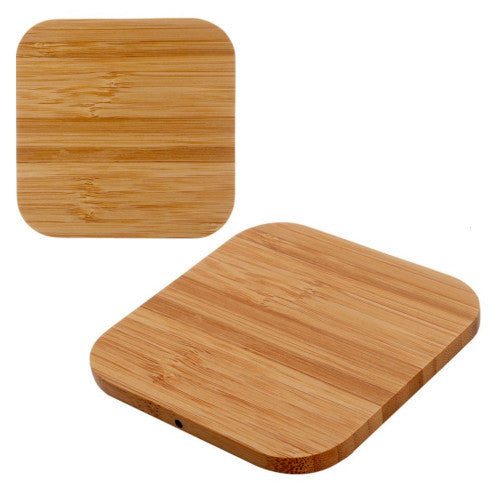 Tuff-Luv Tuff-Luv Eco-Charge Bamboo 1A Wireless Charger - Natural (I2_123)