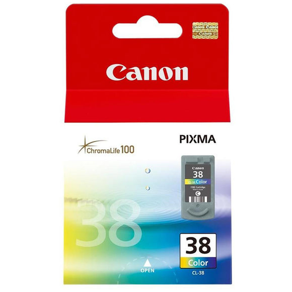 Genuine Canon CL-38 Colour Ink Cartridge